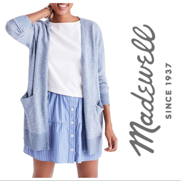 381a050ca03e Madewell Sweaters - Madewell Summer Ryder Cardigan in Stripe